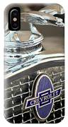 1931 Chevrolet Hood Ornament 2 IPhone Case