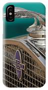 1931 Chevrolet Hood Ornament IPhone Case