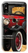 1931 Ford Model A Fire Truck IPhone Case