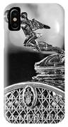 1931 Packard Convertible Victoria Hood Ornament 2 IPhone Case
