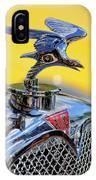 1932 Alvis Hood Ornament IPhone Case