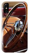 1932 Ford Hot Rod Steering Wheel 2 IPhone Case