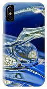 1933 Chrysler Imperial Hood Ornament IPhone Case
