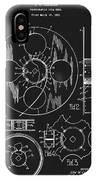 1933 Film Reel Patent IPhone Case