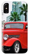 1933 Ford 'three Window' Coupe II IPhone Case