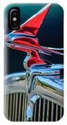 1933 Franklin Olympic Hood Ornament IPhone Case
