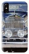 1933 Packard 12 Convertible Coupe IPhone Case