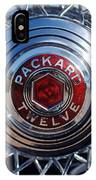 1933 Packard 12 Wheel IPhone Case