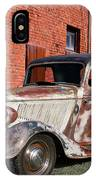 1934 Ford 'patina Plus' Coupe IPhone Case
