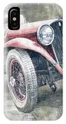 1934 Walter Standart S Jindrih Knapp 1000 Mil Ceskoslovenskych Winner  IPhone Case