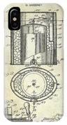 1935 Beer Equipment Patent  IPhone Case
