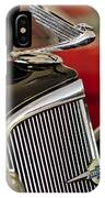 1935 Chevrolet Optional Eagle Hood Ornament IPhone Case
