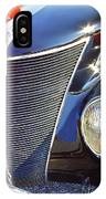 1937 Ford 2 Door Sedan IPhone Case