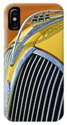 1937 Plymouth Hood Ornament 2 IPhone Case