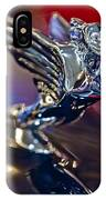 1938 Cadillac V-16 Hood Ornament IPhone Case