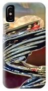1938 Cadillac V-16 Sedan Hood Ornament IPhone Case