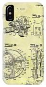 1940 Film Camera Patent IPhone Case