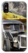 1940 Ford Rat Rod Pickup IIi IPhone Case