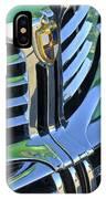 1940's Lincoln Hood Emblem IPhone Case