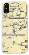 1941 Bulldozer Patent IPhone Case