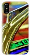 1941 Willys Chopped Gasser Pickup Hood Ornament IPhone Case