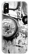 1946 Chevy Work Truck - Headlight Detail IPhone Case