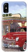 1946 Ford Deluxe Coupe IPhone Case