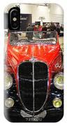 1947 Delahaye 135m Letourner Et Marchand Cabriolet IPhone Case