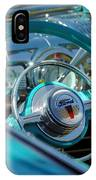 1947 Ford Deluxe Convertible Steering Wheel IPhone Case