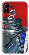 1948 Talbot-lago T26 Record Cabriolet Hood Ornament IPhone Case