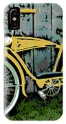 1949 Shelby Donald Duck Bike IPhone Case