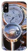 1950 Oldsmobile Rocket 88 Steering Wheel 2 IPhone Case