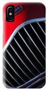 1951 Allard K2 Roadster Hood Ornament IPhone Case