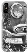 1951 Chevrolet Power Glide Black And White 2 IPhone Case by Lisa Wooten