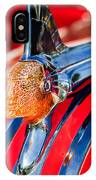 1951 Pontiac Chief Hood Ornament IPhone Case