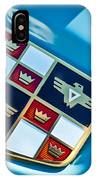1951 Studebaker Hood Emblem IPhone Case