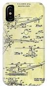 1952 Helicopter Patent IPhone Case