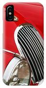 1952 Jaguar Xk 120 Grille Emblem IPhone Case