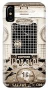 1952 Land Rover 80 Grille -1003s IPhone Case