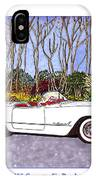 1955 Corvette Six Roadster IPhone Case