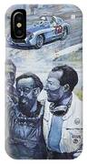 1955 Mercedes Benz 300 Slr Moss Jenkinson Winner Mille Miglia  IPhone Case