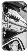 1955 Mercedes-benz 300sl Gullwing Steering Wheel - Race Car -0329bw IPhone X Case