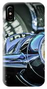 1955 Pontiac Star Chief Steering Wheel Emblem -0103c IPhone Case