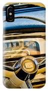 1956 Cadillac Steering Wheel IPhone Case