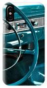 1956 Chevrolet Belair Interior Hdr No 1 IPhone Case