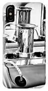 1956 Chrysler Hot Rod Engine IPhone Case