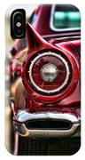 1957 Ford Thunderbird Red Convertible IPhone Case