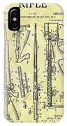 1957 Rifle Patent IPhone Case