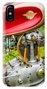 1958 Ducati 175 F3 Race Motorcycle -2119c IPhone Case
