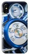 1958 Edsel Ranger Push Button Transmission IPhone Case